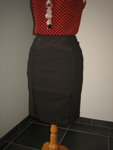 Uk T 10 Skirt Crayon Elegante 34 36 Noire Jupe The Chic S 8 Pencil Save Queen 4qOZzxxw