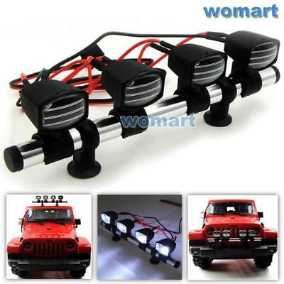 1//10 New RC LED Light Bar 6~7.4V JR Plug for RC 4WD Axial Crawler Truck Upgrade