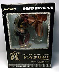 Dead-o-Alive-Kasumi-C2-Nero-Versione-1-6-PVC-Figura-Giappone-Importazione-Usato
