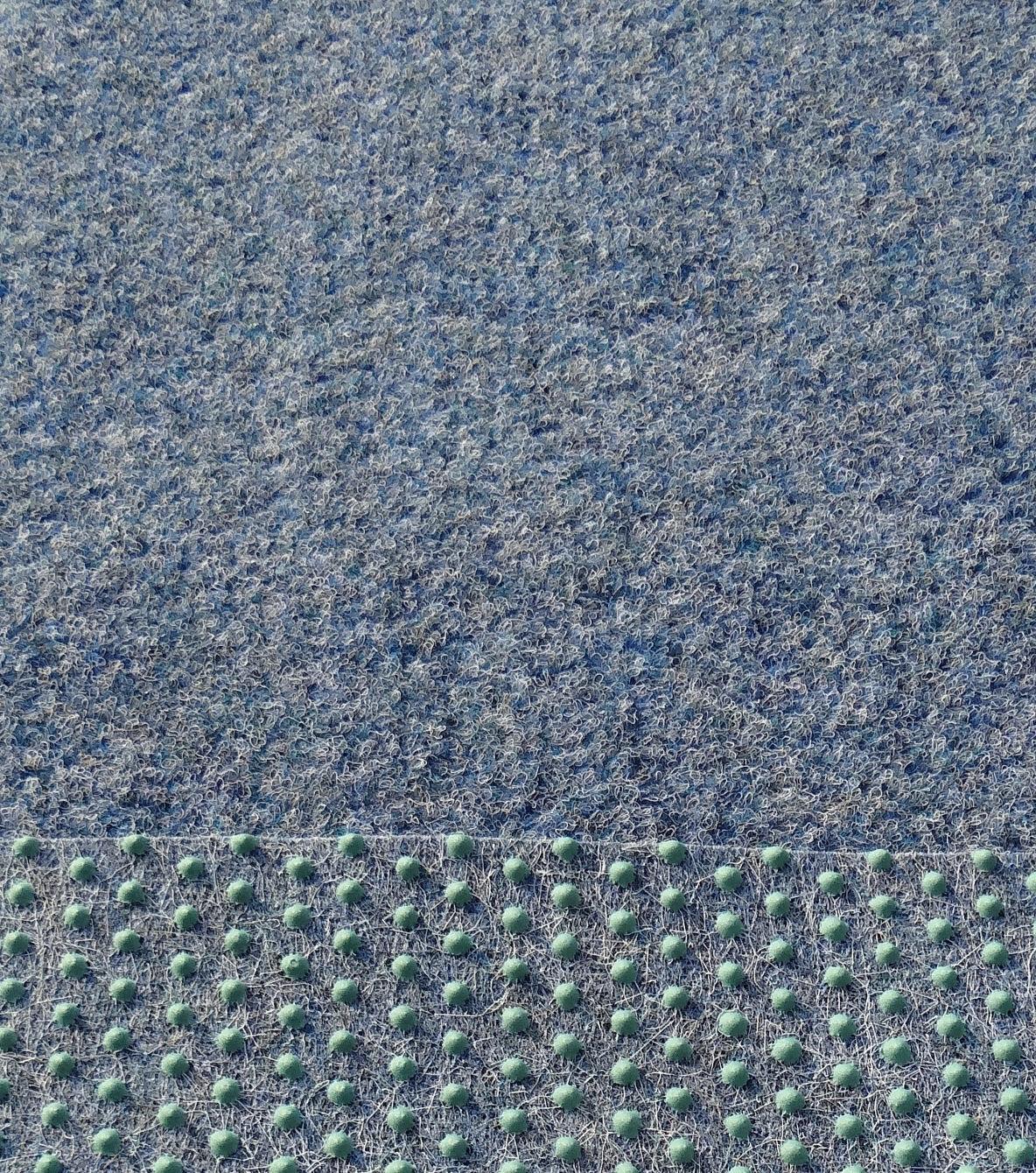 Kunstrasen Rasenteppich m. Noppen weich 750 x 133cm  blau blau blau 797440