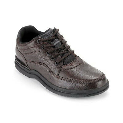 Rockport Men's World Tour Classic Leather Walking Shoes Brown K70884
