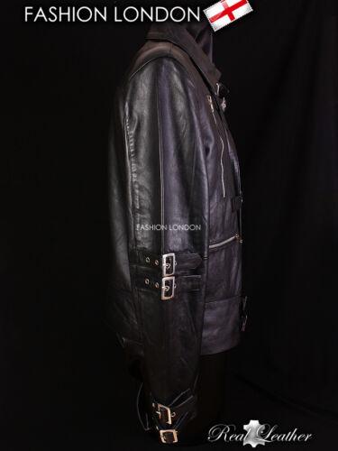 /'MJ BAD/' Black Dance Men/'s Pop Real Lambskin Leather Jacket