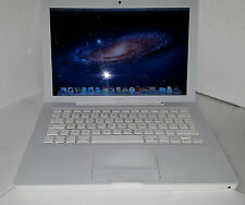APPLE MACBOOK 13.3 INCH 2.00GHZ INTEL CORE 2 DUO 4GB MEMORY 250GB HARD DRIVE