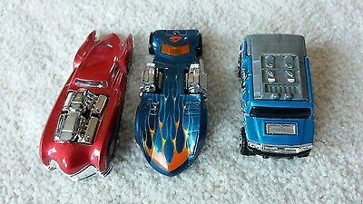 3x Hot Wheels Cars 2003 Mattel Twin Mill, 2 Fresco, Rockster Ottime Condizioni-mostra Il Titolo Originale Processi Di Tintura Meticolosi