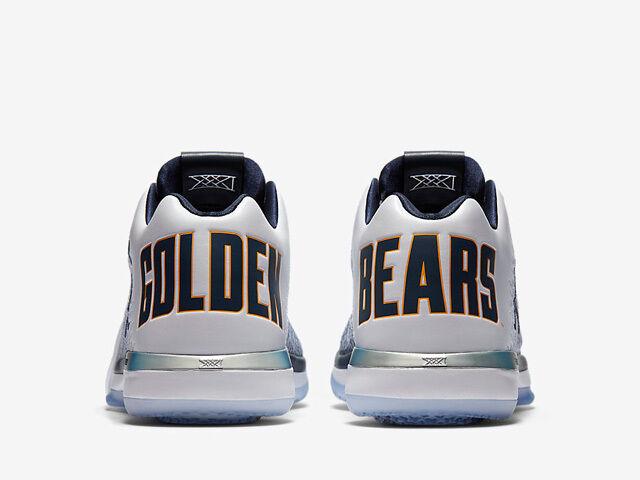 Nike air jordan 31 'dietetica golden bears dimensioni 897564-118 1 2 3