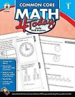 Grade 1 Common Core Math 4 Today: Daily Skill Practice by Erin McCarthy (Paperback, 2013)