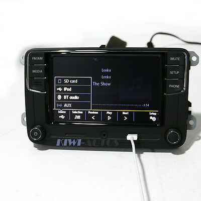 6.5'' Autoradio  RCD510 RCD330+ BT MirrorLink USB VW Passat Tiguan Polo Golf EOS