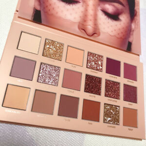HUDA-BEAUTY-18-Couleurs-Palette-Fard-Ombre-a-Paupieres-Mat-Eyeshadow-Maquillage