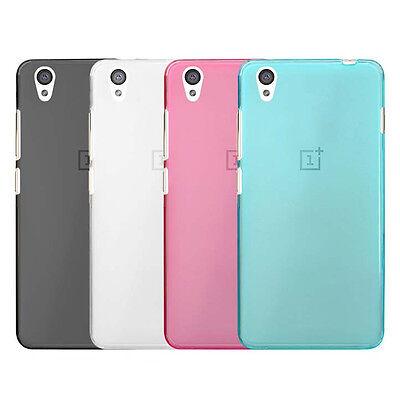 half off 45b31 1d47d For OnePlus X 1PlusX TPU Matte Mist Gel skin case cover   eBay