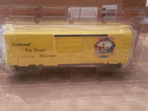NEW IN BOX Work Train Boxcar Lionel Trains #6-52310 ~ NTTM Toy Train Museum