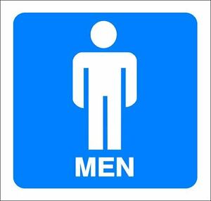 4-034-x-4-034-ONE-GLOSSY-STICKER-034-MEN-RESTROOMS-034-FOR-INDOOR-OR-OUTDOOR-USE