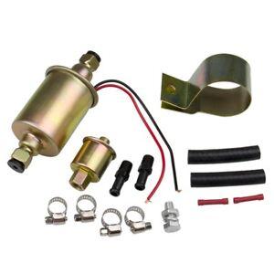 100% De Qualité Universal Electric Fuel Pump Carburetor 12v E8012s 5-9 Psi Trucks Tractors Us