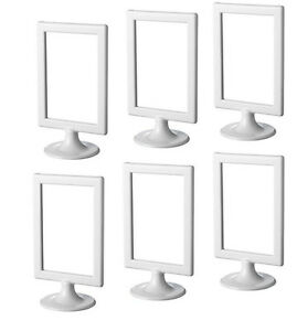 Image Is Loading 6 White Ikea Tolsby 4x6 034 Standing Frames