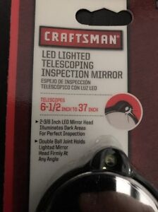 Craftsman 45047 Led Lighted Telescoping Inspection Mirror