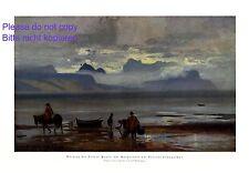 Puerto Montt Llanquihue Chile XL 1924 art print by Alf Bachmann South America +