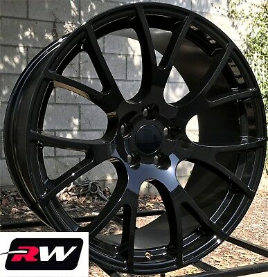 2015 Dodge Magnum >> 20 X9 Inch Wheels For Dodge Magnum Srt Hellcat Gloss Black Rims 5x115 20 Ebay