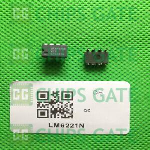 1PCS-nuevo-LM6221N-NS-0038-DIP-8