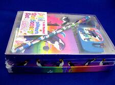 Lisa Frank Stationery Box Set Max Splash Penguin, Killer Orca Whale NEW Sealed!