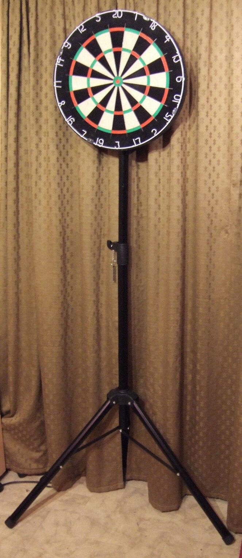 Dartanlage Dartboard und Ständer für Steeldart