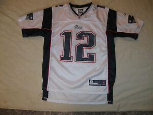Tom Brady New England Patriots Jersey Youth Large 14-16 Kids Boys ...