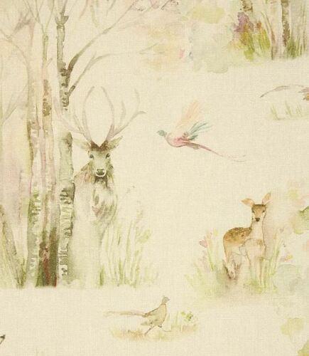 Voyage Maison Forêt enchantéeHighland Stag Lin Rideau Ameublement Tissu