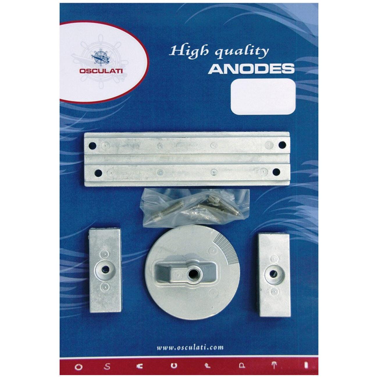Osculati Anoden-Set MERCURY Magnesium-Anode Verado 4 Optimax Zink-, Aluminium-, Magnesium-Anode MERCURY 7d8fe1
