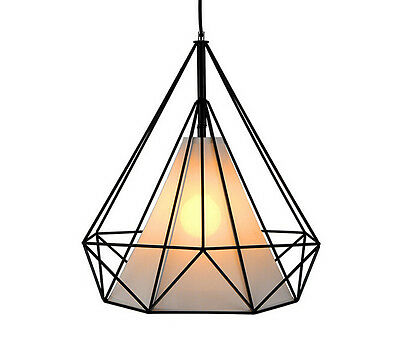 Diamond Metal Ceiling LED Pendant Lighting Lamp