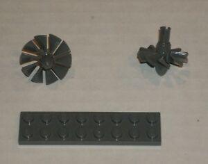 LEGO NEW Dark Stone Grey Chain with 5 Links 2x 4600437 Brick 92338