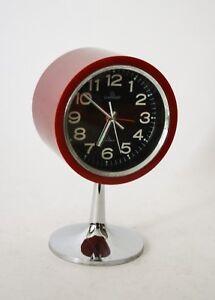 Orologio Da Tavolo Tulip Garant Japan Clock Space Age Vintage Design Anni 70 Ebay