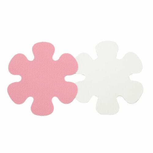 20Pcs Flower Safety Treads Non-Slip Applique Sticker Tub Strips Floor Mat Treads