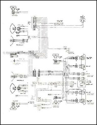 1977 Chevy Chevette Foldout Wiring Diagrams Electrical Schematic Chevrolet on