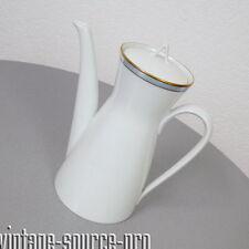 Rosenthal Porzellan Kanne Kaffeekanne 1 Liter Studio Line Form 2000 Goldrand TOP
