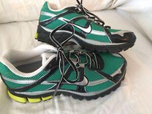 Nike Air Bowerman Series Athletic Shoes Green Mesh Waffle Soles Mens ... 9ef67d37b1fb