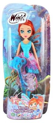 Sportivo Winx Club Sirenix Bubble Magic Bloom Bambola Doll Witty Toys