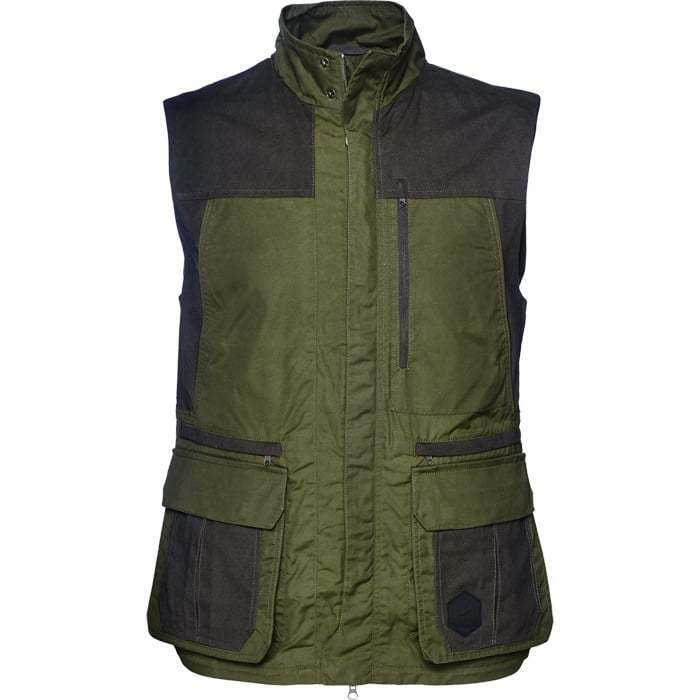 Seeland Key-Point Waistcoat Shooting Hunting Vest Gilet - Pine Green