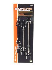 Sunlite Lock N Roll Locking Bicycle Skewer Set Front & Rear Wheel + Seatpost NEW