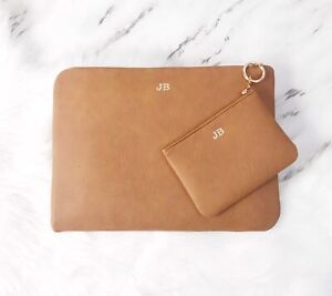 huge selection of 605e8 760b4 Details about Personalised Macbook Case with Charger Pouch, Macbook Pro  Macbook Air All Sizes