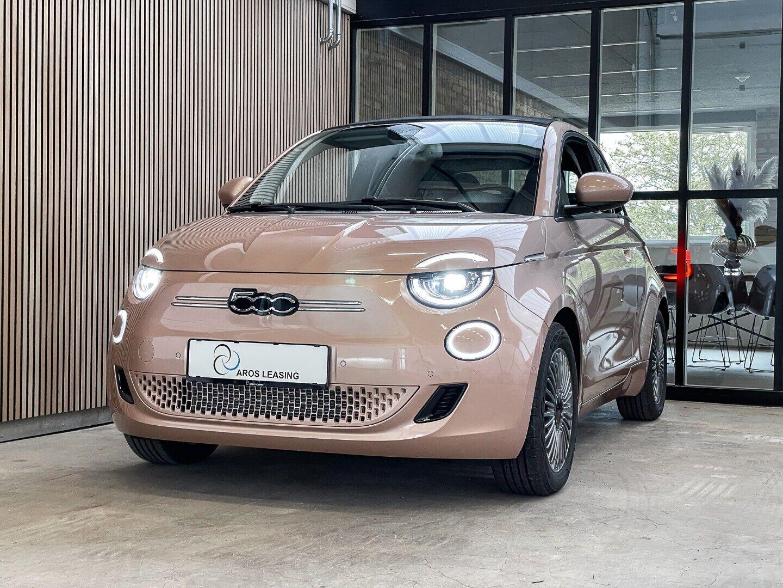 Fiat 500e  Icon Cabrio 2d - 1.500 kr.