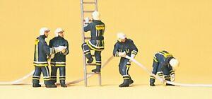 Preiser 10485 Pompiers Moderne
