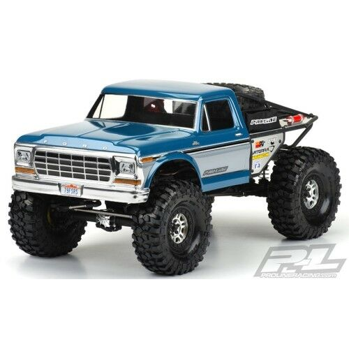 [Pro-Line Racing]1979 Ford F-150 Clear Body for Ascender Vaterra Ascender()