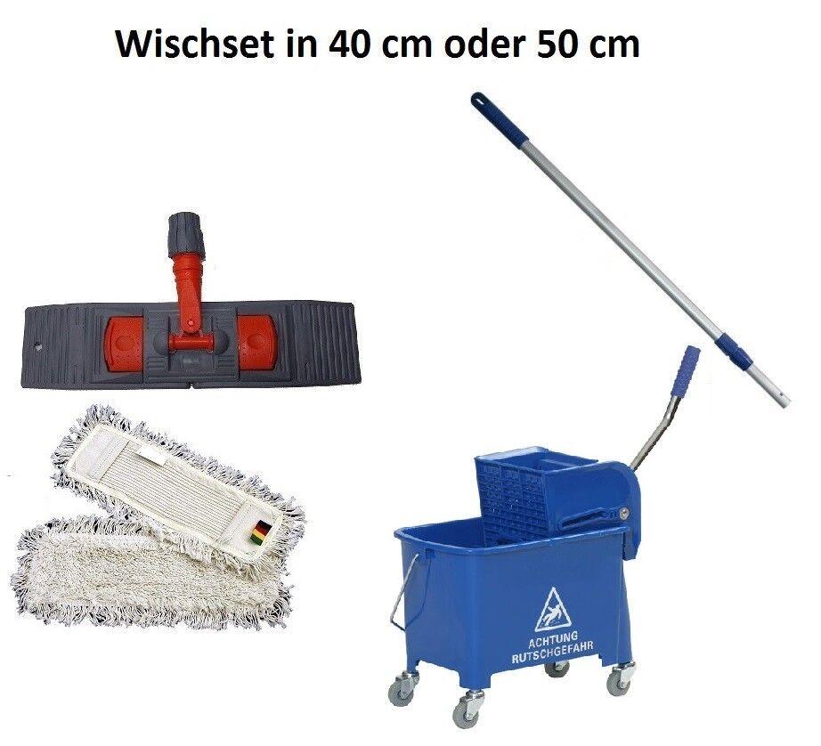 Bodenwischer Komplett Set in 40 cm oder 50 cm
