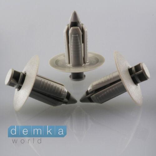 10 xkunststoff spreizniete FISSAGGIO COFANO sotto protezione clip 09409073085pk