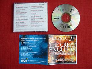 The Great Encores  Classic FM Music Collection No 128 inc Liszt Chopin amp - Slough, Berkshire, United Kingdom - The Great Encores  Classic FM Music Collection No 128 inc Liszt Chopin amp - Slough, Berkshire, United Kingdom