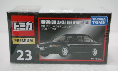 Takara Tomy Tomica Premium 23 Mitsubishi Lancer GSR Evolution III Car Model