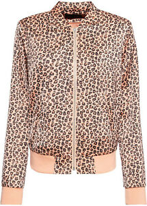 Zip-Front-Peach-Leopard-Print-Blouson-Bomber-Jacket-in-a-Silky-Feel-Fabric-20