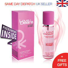 Love & Desire Pheromones Spray Perfume Female Women 15ml Attract Handsome Men