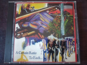 A-CERTAIN-RATIO-To-Each-CD-New-Wave-Post-Punk-Funk