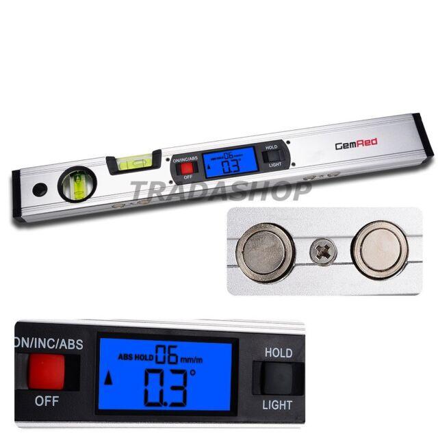 Digital Range Angle Finder Level Inclinometer 360° Spirit Level Upright Magnets