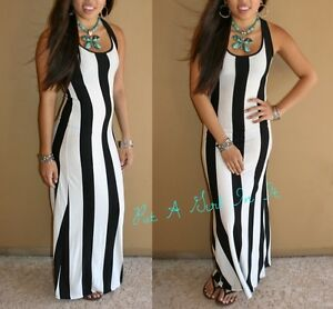 Image Is Loading Y Black Amp White Thick Striped 034 Mesmerize