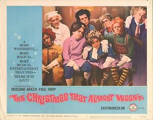 Christmas That Almost Wasn T.Details About 1966 Movie Lobby Card 4 1896 Christmas That Almost Wasn T Rossano Brazzi 5